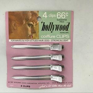 1967 Coiffure Hair Clips